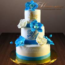 Свадебный торт № 338 С