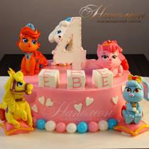 Торт для девочки на день рождения № 624 Д