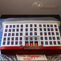 Торт на выпускной из школы № 628 Д