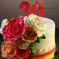 Торт на 30 лет № 255 Т