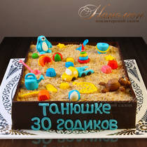 Торт песочница № 257 Т