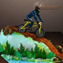 Торт велосипедисту № 119 М
