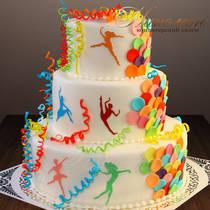 Торт танцевальный № 090 К