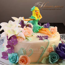 Торт девушке на 25 № 260 Т
