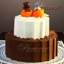 Свадебный торт № 354 С