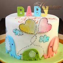 Торт малышу № 650 Д