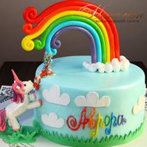 Торт радуга № 653 Д