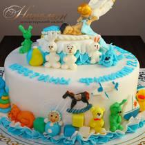Торт крещение № 655 Д