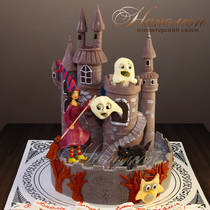 Торт замок № 659 Д