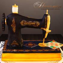 Торт швейная машинка № 058 Ж