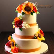 Свадебный торт необычный № 361 С