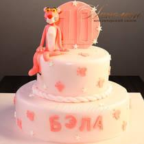 Торт розовый № 663 Д