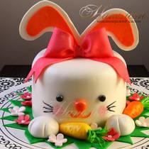 Торт зайчик № 664 Д