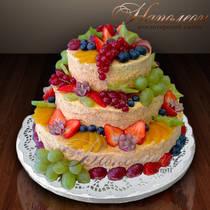 """Праздничный торт """"Наполеон"""" № 023 Т"""
