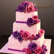 Свадебный торт № 372 С