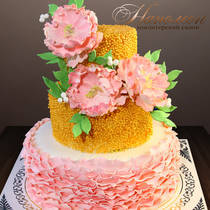Свадебный торт № 376 С