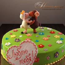 Свадебный торт № 074 С