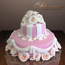 Свадебный торт № 063 С
