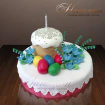 Торт на пасху № 001 Р