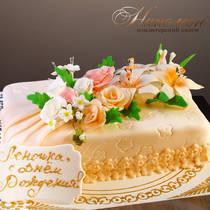 Торт на день рождения женщине № 305 Т