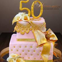 Торт на 50 лет женщине № 306 Т