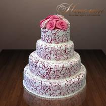 Свадебный торт № 059 С