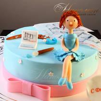 Торт на 30 лет девушке № 313 Т