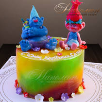 Торт тролли № 711 Д