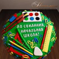 Торт на выпускной из начальной школы № 717 Д