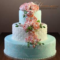Свадебный торт № 384 С