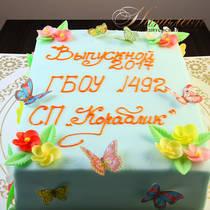 Торт на выпускной № 719 Д