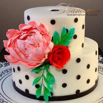 Свадебный торт № 390 С