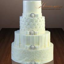 Свадебный торт № 393 С