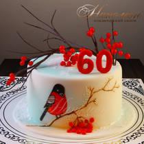 Торт на 60 лет № 318 Т