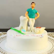 Торт зубному врачу 047 П