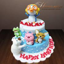 Торт на день рождения № 727 Д