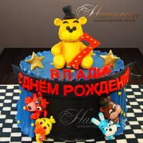Торт на 7 лет мальчику № 729 Д