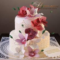 Торт маме на юбилей № 320 Т