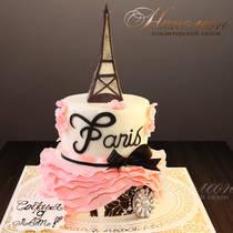 Торт с эйфелевой башней 732 Д