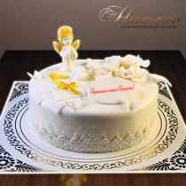 "Торт на Крестины ""Ангел мой"" № 055 Д"