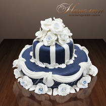 Свадебный торт № 064 С