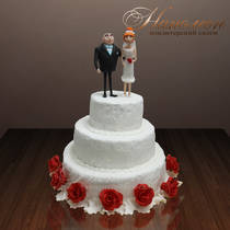 Торт свадебный № 050 С