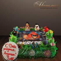 Торт Angry Birds № 002 Д