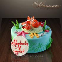 """Детский торт """"Немо"""" № 121 Д"""