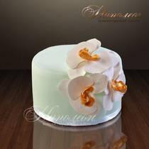 """Торт """"Нежные лилии"""" № 022 Ж"""