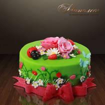 Торт полянка № 007 Т