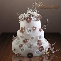 Свадебный торт № 003 С