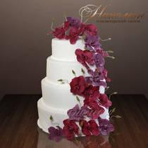 Свадебный торт № 012 С