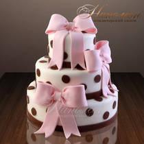 Свадебный торт № 017 С