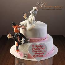 Свадебный торт № 020 С